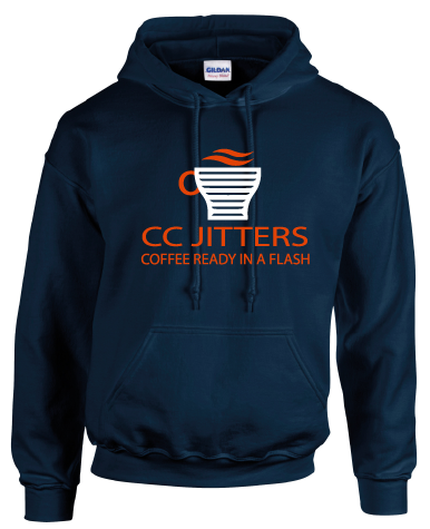 CC JITTERS COFFEE SHOP HOODIE - INSPIRED BY FLASH