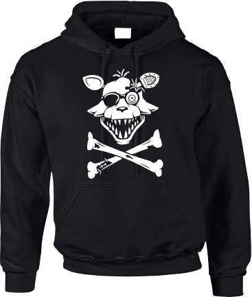 FNAF FOXY PIRATE HOODIE - INSPIRED BY FIVE NIGHTS AT FREDDYS