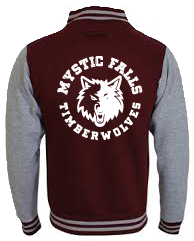 MYSTIC FALLS TIMBERWOLVES VARSITY - INSPIRED BY THE VAMPIRE DIARIES