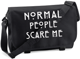 NORMAL PEOPLE SCARE ME M/BAG - INSPIRED BY AMERICAN HORROR STORY